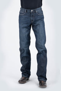 Tin Haul Collection- 420 Regular Joe Fit Tinhaul Mens Jeans Tan Thick Lines Dont Meet In The Middl