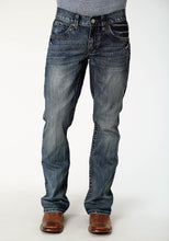 Tin Haul Guy's Jean Tinhaul Mens Jeans Deep V Wheavy Top Stitching On Pkt