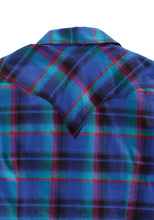 Tin Haul Collection Tinhaul Womens Long Sleeve Shirt 1329 Pineberry Plaid