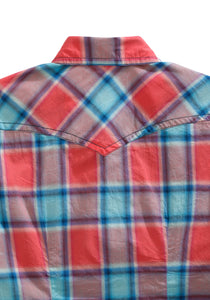 Tin Haul Collection Tinhaul Womens Long Sleeve 2139 Sunrise Plaid