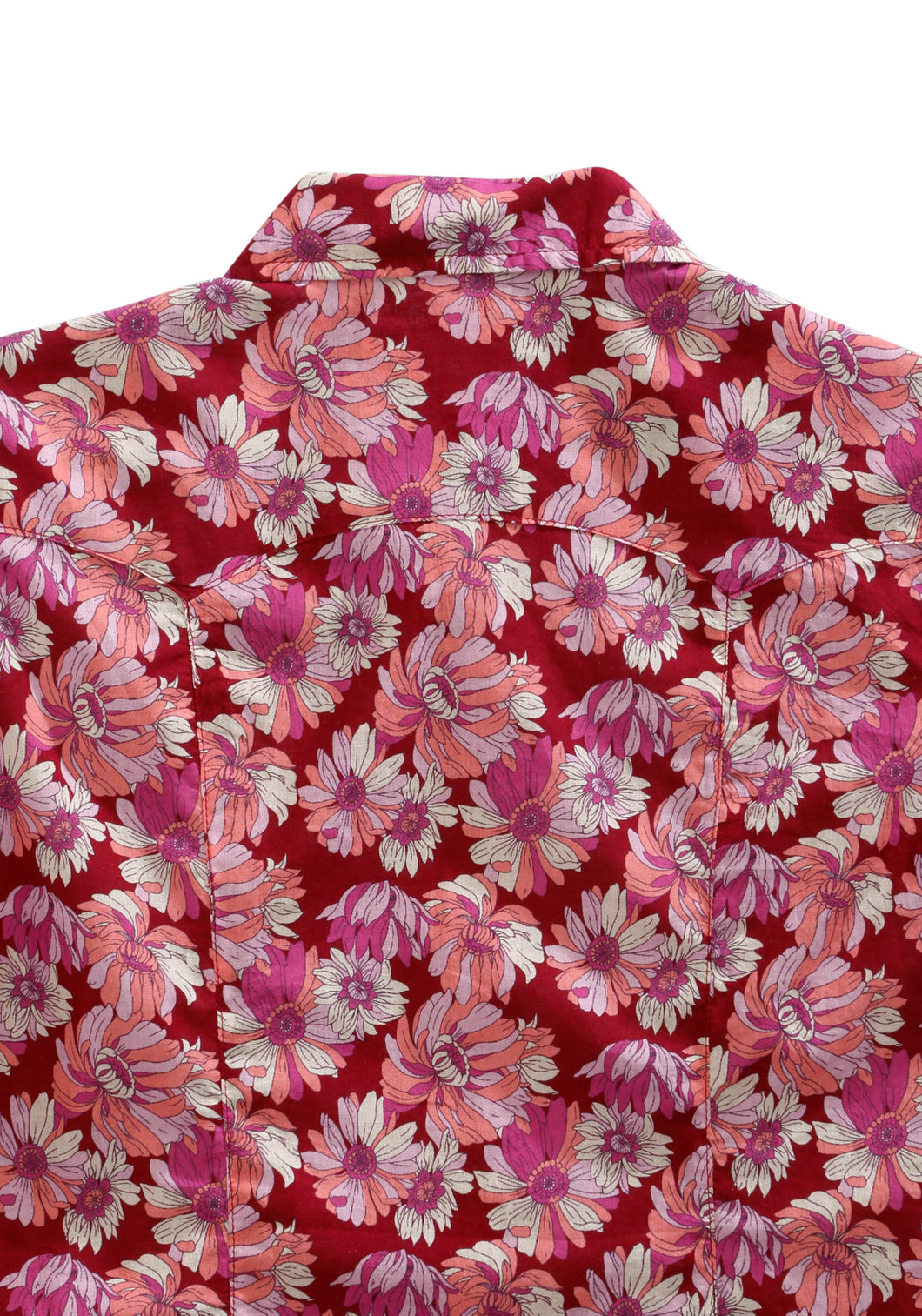 Tin Haul Collection Tinhaul Womens Long Sleeve 2159 Red Daisies
