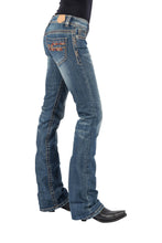 Tin Haul Gal's Jean Tinhaul Womens Jeans Aztec Emb On Back Pocket Ows