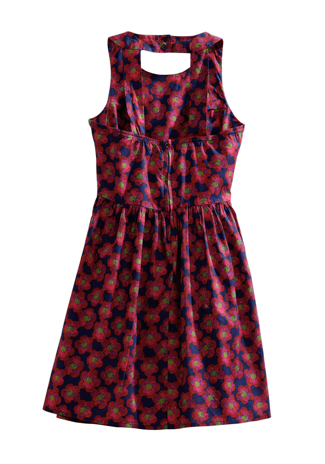 Tin Haul Collection Tinhaul Ladies Sleeveless Dress 0250 Bouncy Floral Print