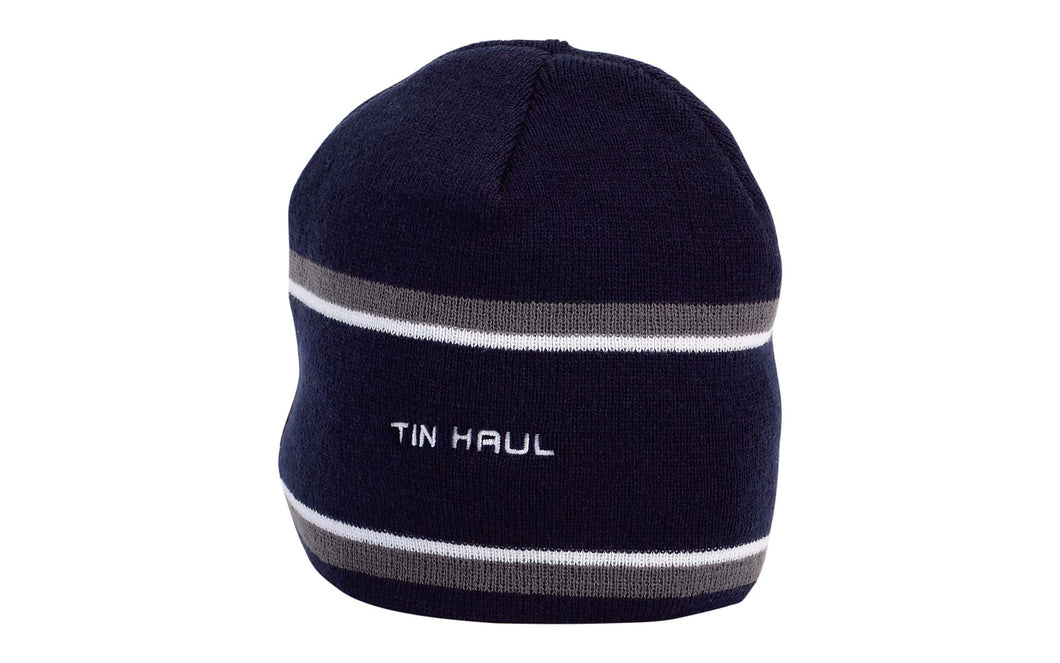 Tin Haul Collection Caps Other Caps Navy Wgrey And White Stripe Beenie