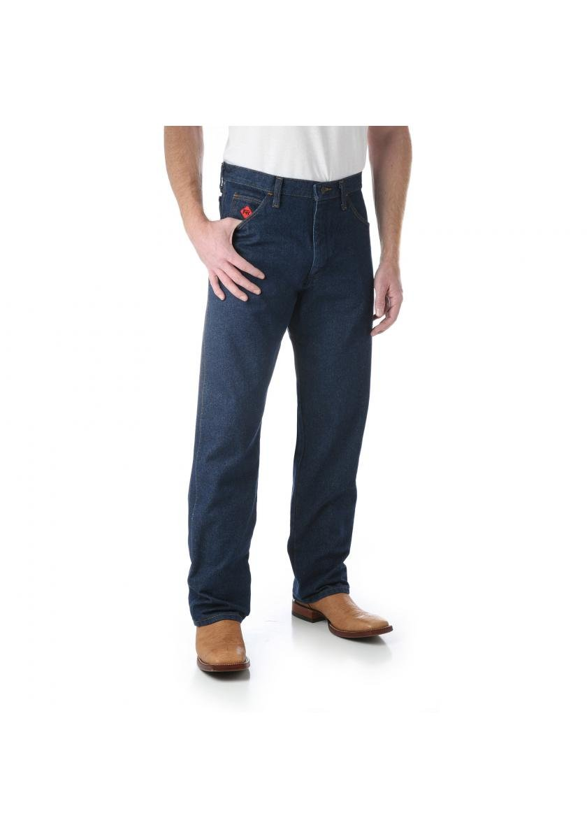 Relaxed Fit Flame Resistant Jeans Men's Work Wear