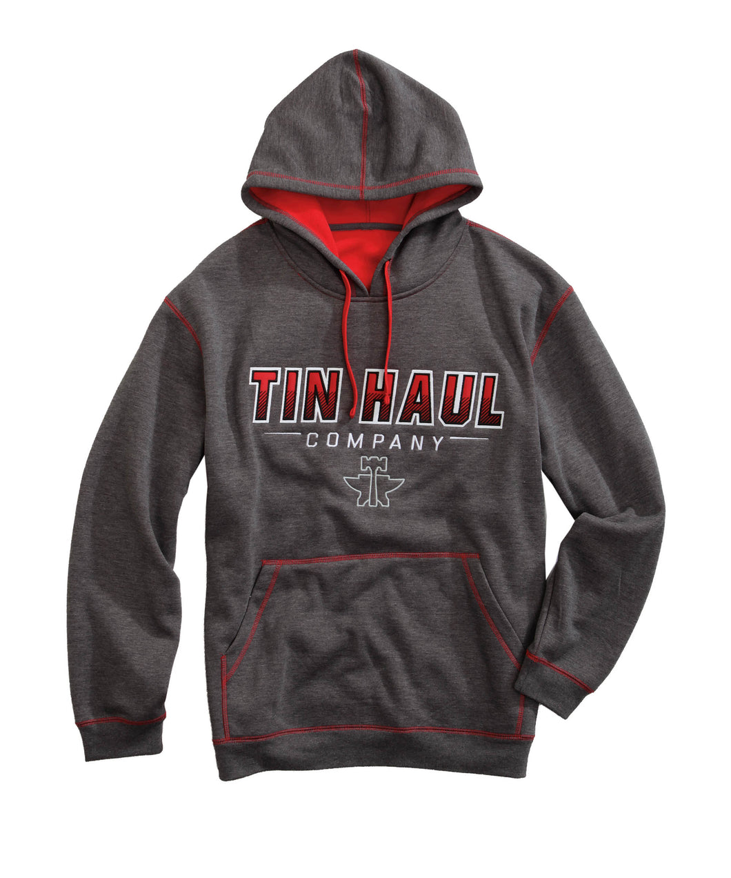 Tin Haul Hoodies Tinhaul Mens Jacket Obmbe Applique With Tin Haul