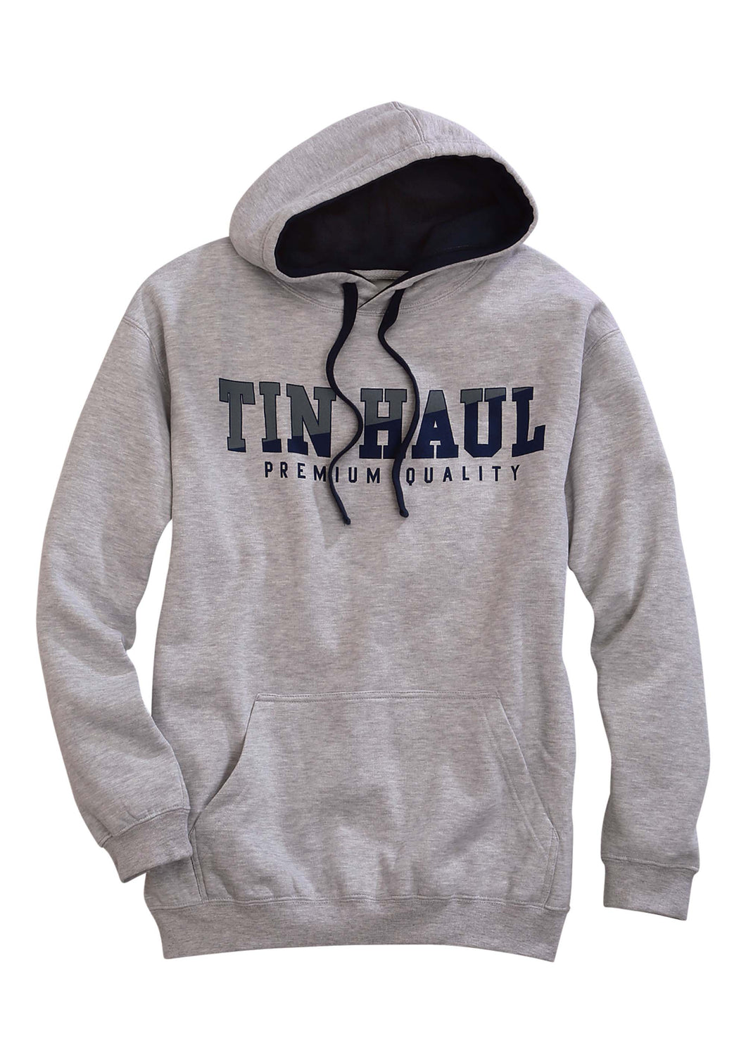 Tin Haul Collection Tinhaul Mens Jacket Tin Haul Emb In Navy On Front