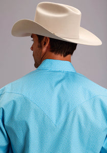 Stetson Men's Collection- Spring Iii Stetson Mens Long Sleeve Shirt 1505 This And That Print