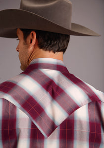 Stetson Men's Collection- Fall Ii Stetson Mens Long Sleeve 00281 Grande Plaid
