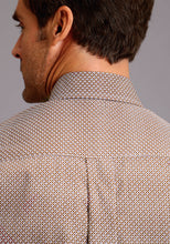 Stetson Men's Collection- Fall I Stetson Mens Long Sleeve 9830 Dot Geo Print