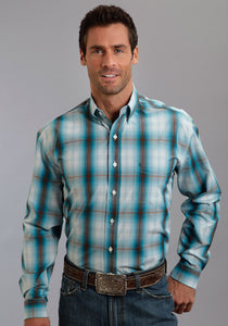Stetson Men's Collection- Fall Iv Stetson Mens Long Sleeve Shirt 9930 Hunter's Plaid