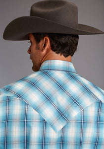 Stetson Men's Collection- Fall Ii Stetson Mens Long Sleeve 1864 Horizon Ombre