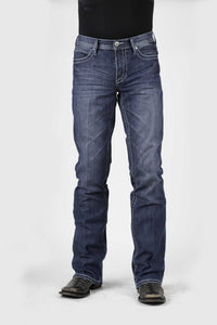"Stetson Men's Jean - 1014 Fit Stetson Mens Jeans W"" Deco Stitch On Back Pkts"