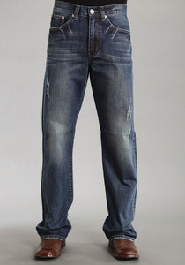 "Stetson Men's Jean-1312 Fit Stetson Mens Jeans ""x"" Deco Stitch On Pkt"