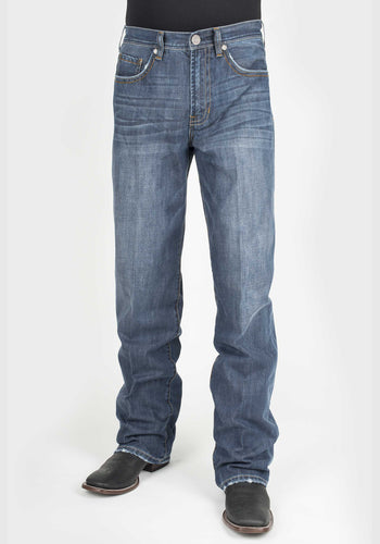 Stetson Men's Jean- 1312 Modern Fit Stetson Mens Jeans Heavy