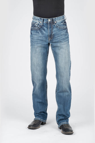 Stetson Men's Collection-instock Stetson Mens Jeans Rope Deco Back Pkt Ows