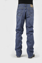 Stetson Men's No.1520 Standard Straight Leg Stetson Mens Jeans 1520 Fit Medium Distressed Stone Wash