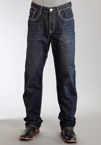 Stetson Men's 1520 Fit Jean Stetson Mens Jeans X Stitch Back Pkt