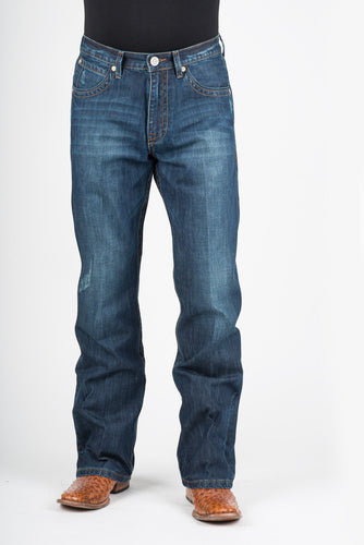 Stetson Men's Jean- 1520 Fit Stetson Mens Jeans Triple X Deco Back Pkt