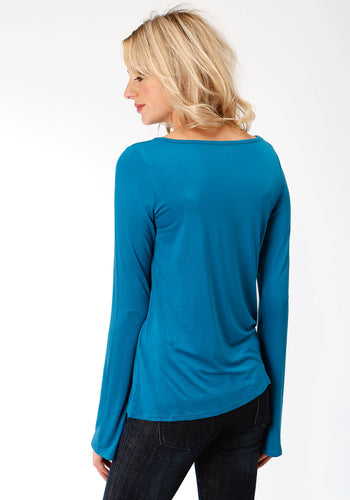 Stetson Ladies Collection- Fall I Stetson Womens Long Sleeve 1715 Rayon Spandex Jersey Knit Tee
