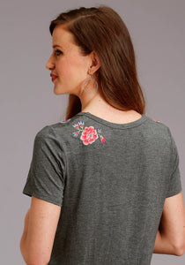 Stetson Ladies Collection- Spring Iii Stetson Womens Short Sleeve 2924 Rayonspandex Jersey T-shirt