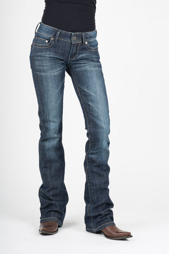 Stetson Ladies Jean- 818 Contemporary Styling Stetson Womens Jeans Tonal