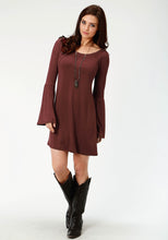Stetson Ladies Collection- Winter I Stetson Womens Short Sleeve Dress 2329 Rayon Spandex Jersey Knit Dress