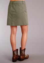 Stetson Ladies Collection-spring I Basicntrcl Womens Skirt Olive Twill 5 Pkt Skirt
