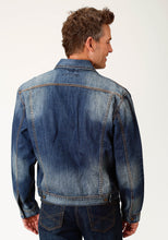 Men's Denim Jacket Stetson Mens Jacket Denim Jacket Wlogo On Left Pkt Flap