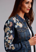 Stetson Ladies Collection- Spring I Stetson Womens Jacket Denim Jacket Wembroidery