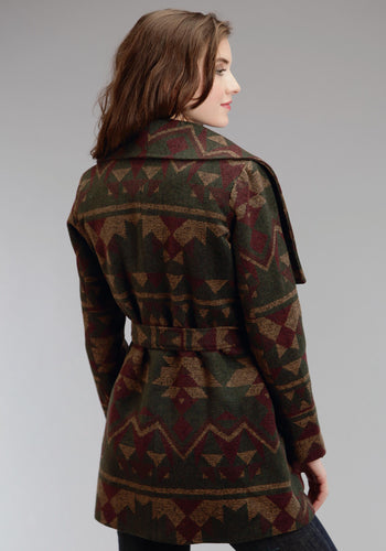 Stetson Ladies Collection- Fall I Stetson Womens Jacket 0815 Pueblo Serape Jacket