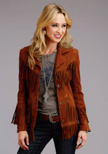 Stetson Ladies Collection- Fall I Stetson Womens Jacket Lamb Suede Fringed Jacket