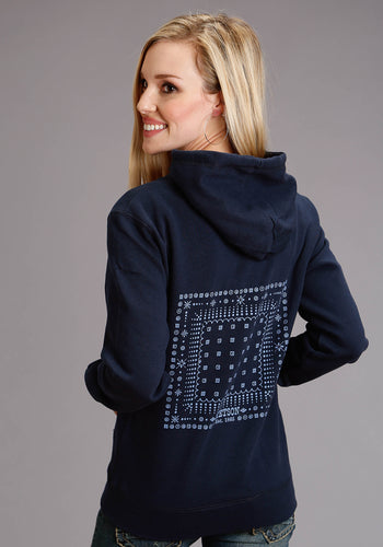 Stetson Ladies Sweatshirt Stetson Womens Jacket Stetson Hankerchief Screen Print
