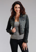 Stetson Ladies Collection- Fall Iii Stetson Womens Jacket Denim Shrunken Jacket Woverdye Denim