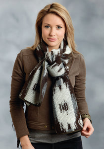 Stetson Ladies Collection- Fall I Stetson Ladies Scarve 9956 Aztec Large Knit Scarf