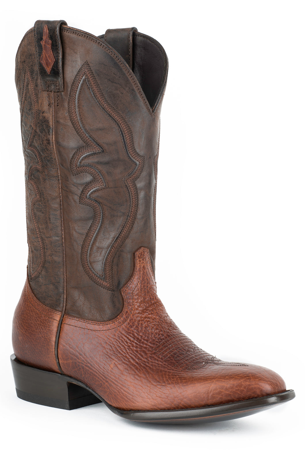 Jbs Davis Boot Mens Boot Burnished Shruken Shldr Vamp Sng Welt