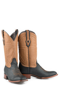 "Billings Boot Mens Boot Black Shark Brown Oiled Tan 13"" Shaft"