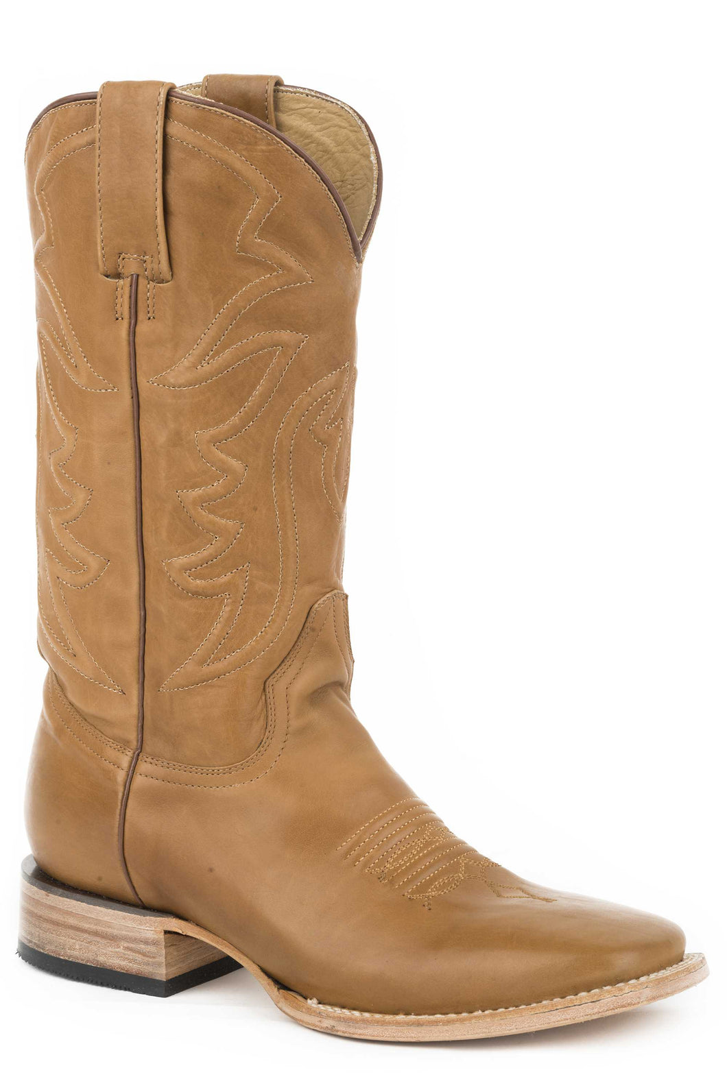 Ames Boot Mens Boots Burnished Tan Calf Vamp