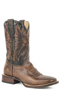 Holliday Boot Mens Boots Distressed Brown Vamp