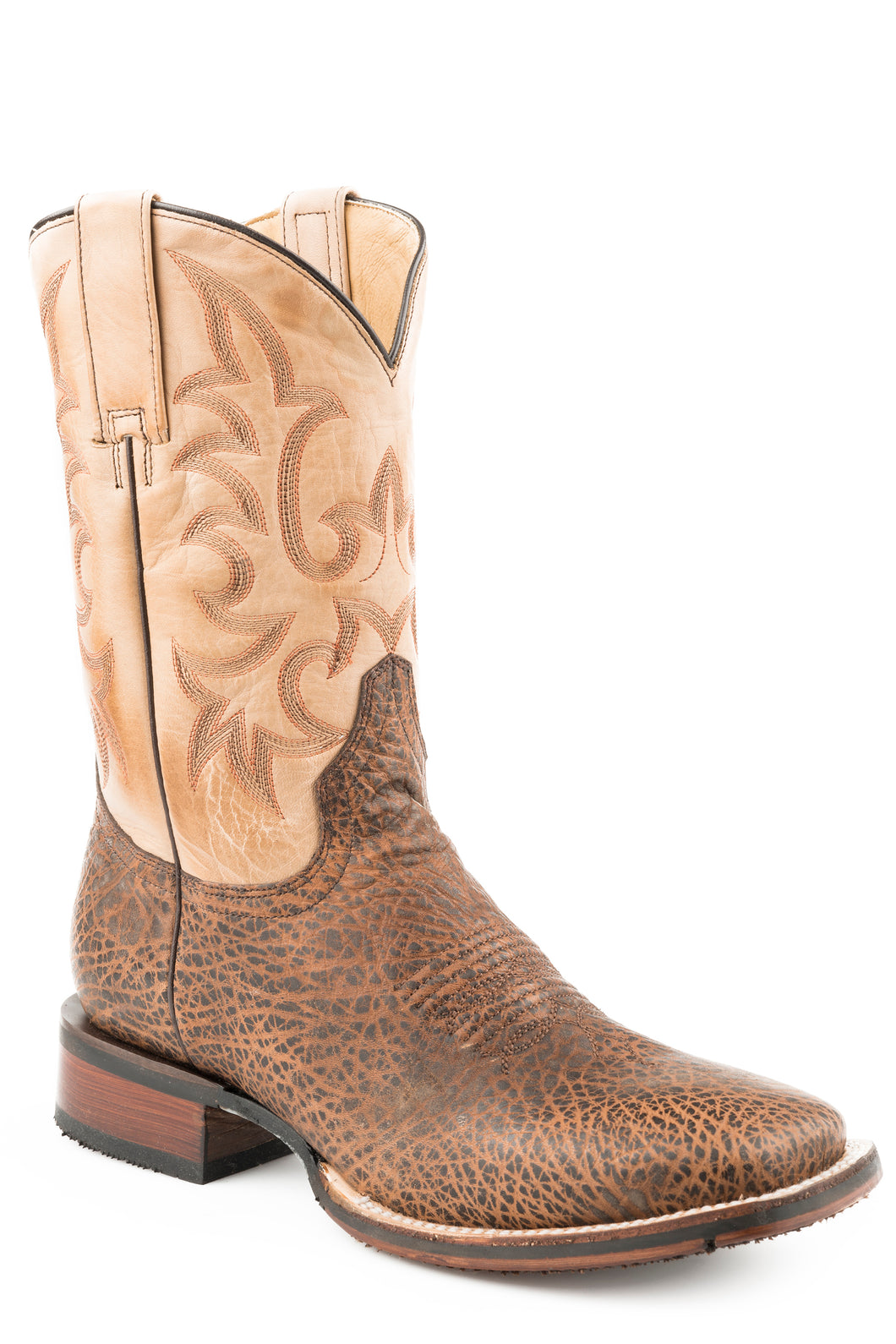 Ian Boot Mens Boots Oily Brown Bull Hide Vamp