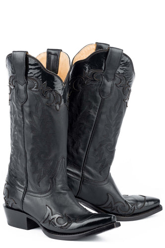 Ellie Boot Womens Boot Black Goat Vamp And 13