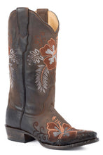 "Aloha Boot Womens Boot Brown Vamp And 13"" Shaft With"
