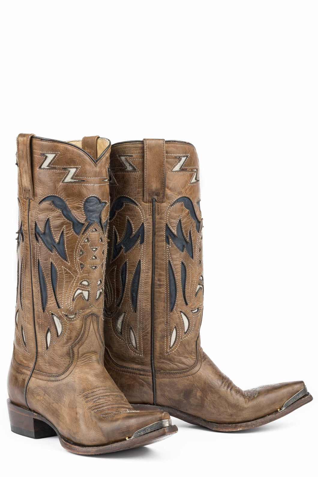 Mamie Boot Womens Boot Brown Vntg Finished Vmp And 13