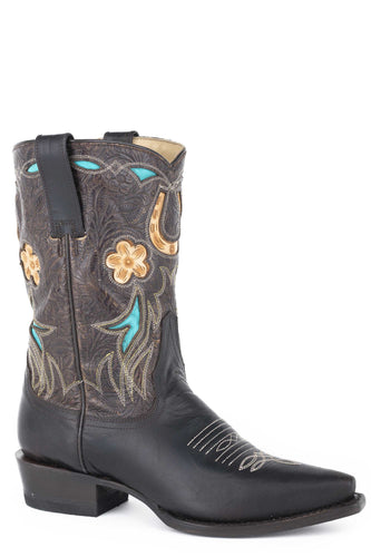 Willa Boot Womens Boots Brown Vamp And 10