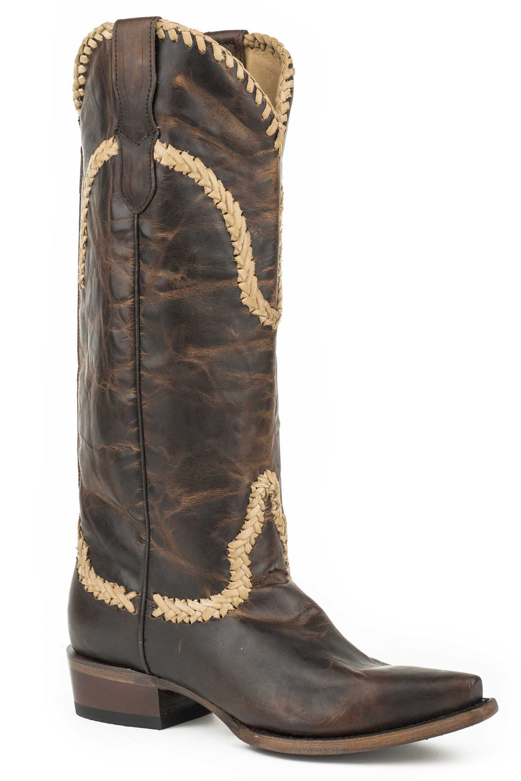 Brit Boot Womens Boots Brown Vamp15
