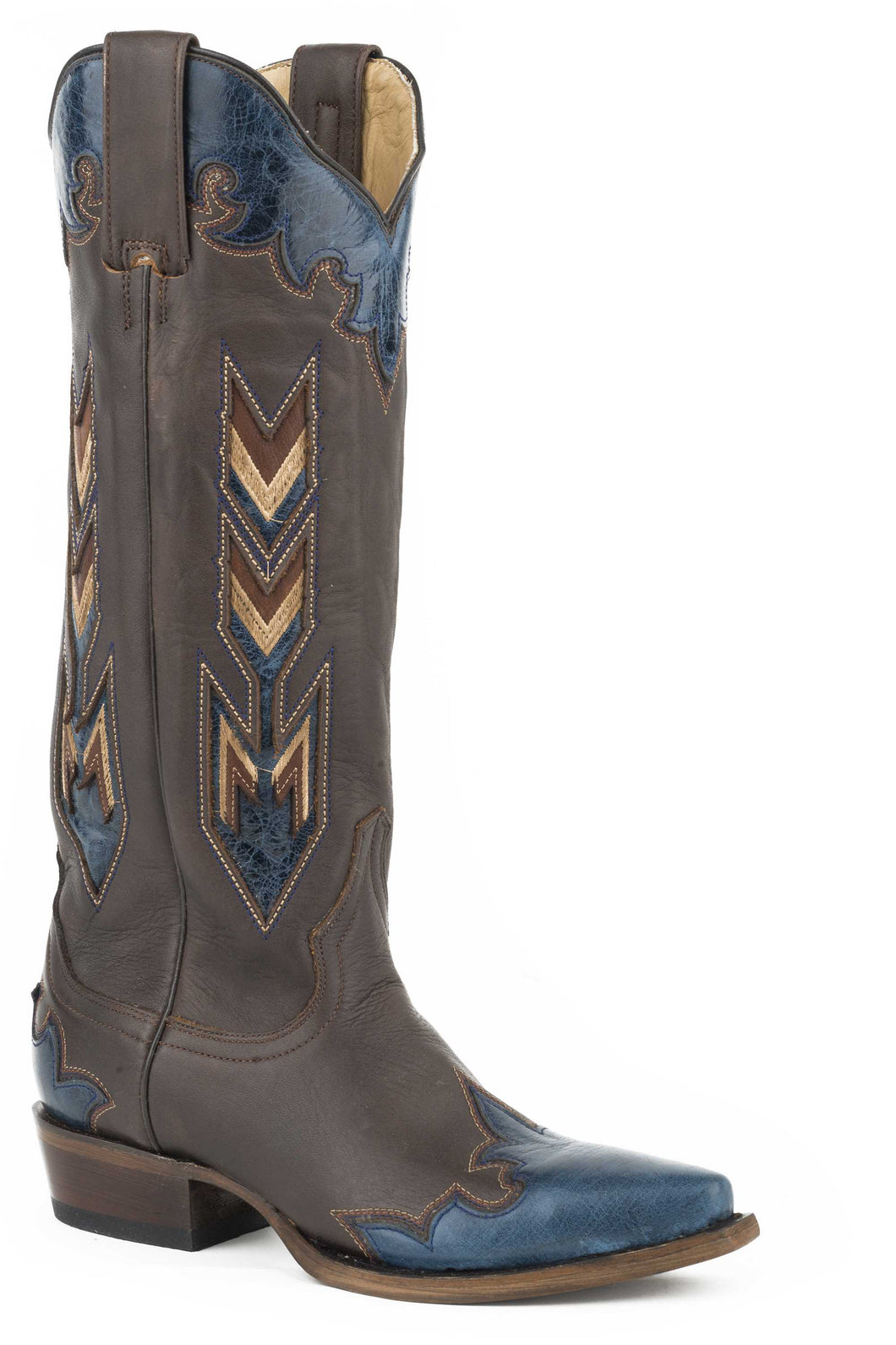 Vida Boot Womens Boots Brown Vamp And 15