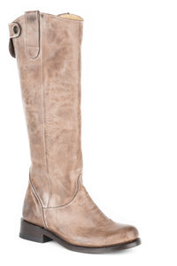 "Brielle Boot Womens Boot Burnished Taupe Vamp16"" Shaft"