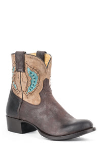 Betsy Boot Ladies Boot Victoria Cafe Vamp Tan Shaft