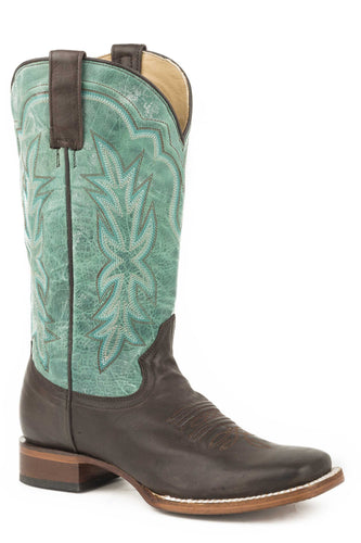 Jessica Boot Womens Boots Chocolate Brown Vamp