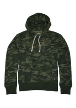 Mens Camo Popover Sweatshirt Men's Outerwear